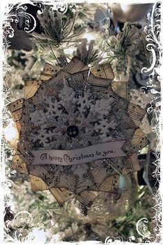 5 gorgeous handmade paper ornaments
