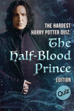 HP Quiz: This Harry Potter trivia quiz will test your knowledge of the sixth book in the series, Harry Potter and the Half Blood Prince. Harry Potter Riddles, Harry Potter Trivia Questions, Harry Potter Character Quiz, Harry Potter Images, Harry James Potter, Trivia Quiz, Harry Potter Facts, Harry Potter Universal, Harry Potter Characters