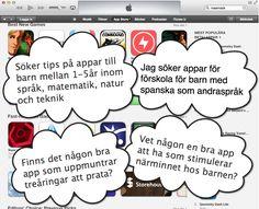 App Store vs Förskola. Så hittar du appar för förskolan med koppling till läroplanen (Lpfö 98)