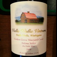 Walla Walla Vintners Cordon Grove Vineyard Cuvee 2009: One of my favorite producers from Walla Walla! This wine is a limited release blend of 60% Cab Franc & 40% Merlot. It has inviting scents of vanilla, dark cocoa, dark berries & caramel. On the palate it is lush with black cherry, more vanilla, dark plum and finishes with pale earth...yum! #blend20 #WAwine #wine