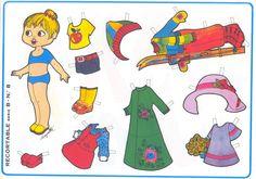 Paper doll | muñecas recortables para vestir » munecasrecortables3