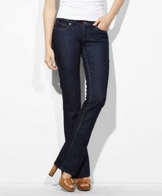 Levi's women's modern demi curve skinny bootcut jean