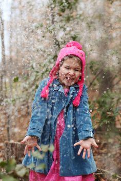 Child Photography, Snow, ©Misty Exnicios