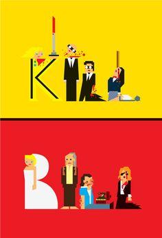 KILL BILL - Creative Design of Movie Fan Art  - By Carlitos Salazar - Celebrating 10 Years of Kills https://www.facebook.com/KillBillMovie