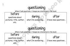 11 reading response notebook prompts - Teacher's Notebook