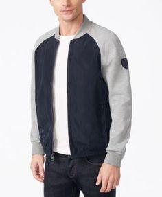 85f1a6707 TOMMY HILFIGER Tommy Hilfiger Men'S Malaga Colorblocked Bomber Jacket. # tommyhilfiger #cloth # coats