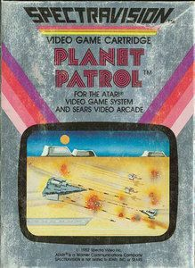 Complete Planet Patrol - Atari 2600 Game