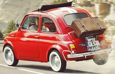 Fiat Cinquecento, Fiat Abarth, Fancy Cars, Cute Cars, Vespa, Turin, Fiat Cars, Fiat 600, Pretty Cars