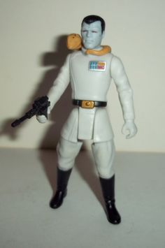 star wars action figures GRAND ADMIRAL THRAWN 1997 complete power of the force potf