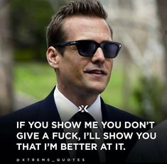 Edgy Quotes, Work Quotes, Real Quotes, Harvey Specter Quotes, Suits Usa, Dont Ever Give Up, Gabriel Macht, Motivational Quotes, Inspirational Quotes