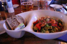Veg food at the #Lofoten Islands, where 22 vegetarians live! #magicnorway