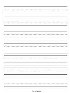 ورقة انجليزي مسطرة Gif 769 1025 Kindergarten Writing Paper Primary Writing Primary Writing Paper
