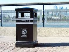 Image result for cast iron litter bins