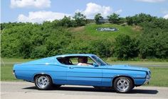 Torino GT powered by a 390 Big Block ford FE and 4 speed toploader transmission.