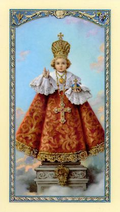 Infant Jesus of Prague helps with any need