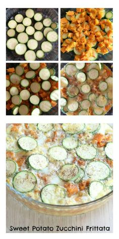 How to make a Sweet Potato Zucchini Frittata   5DollarDinners.com