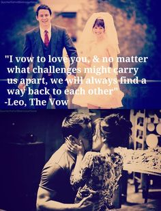 The Vow Movie Quotes | ... the vow rachel mcadams paige channing tatum love quotes vow promise