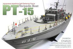 www.themworkshop.com MGALLERY2013 MGALLERY_cheflim2013_img_pt15.htm Pt Boat, Military Modelling, United States Navy, Mold Making, Model Ships, Paper Models, Self Defense, Plastic Models, Cool Stuff