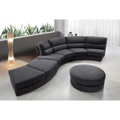 Grey Sectional Couches using curved sectional sofa for an exciting living room: curved
