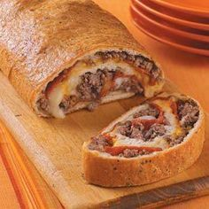 Italian Sausage and Pepperoni Stromboli - Dinner Eatery