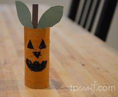 Halloween crafts using toilet paper rolls