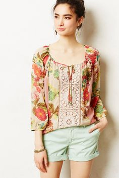 Buy Meadow Rue Women's Multicolor Roselle Peasant Top, starting at $50. Similar products also available. SALE now on!
