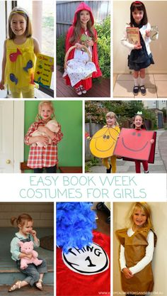 22 Best Easy Book Character Costumes images
