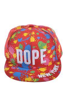 Snap! DOPE Paint Splashes Sport Cap