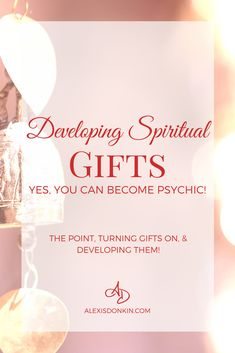 Find out the point of spiritual gifts, how to turn them on (no matter who you are!), as well as practical tips for developing spiritual gifts. #psychic #spiritual