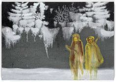 Daniel Richter, Ohne Titel, 2009, Oil on canvas, 70 x 100 cm