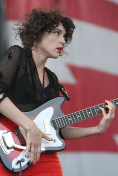 St. Vincent/Annie Clark. My latest inspiration.