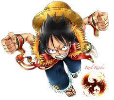 Monkey D Luffy Render 3 by RoronoaRoel on deviantART