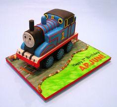 Thomas the Train cake