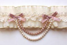 Ivory bridal garter, french lace wedding garter with pearls, lace garter Ivory Bridal Garter, Wedding Garter Lace, Blush Bridal, Lace Garter, Wedding Lingerie, Bridal Lace, Wedding Garters, Wedding Shoes, Garter Toss