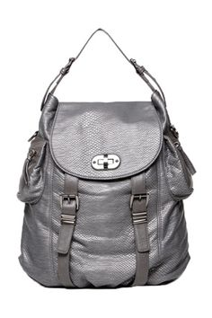 12 Non-Dorky Backpacks for Grown-Ups Silver Backpacks, Olivia And Joy, Stylish Backpacks, Work Bags, Diaper Bag Backpack, Purses And Bags, Husband, Take That, My Style