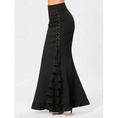 GET $50 NOW   Join Dresslily: Get YOUR $50 NOW!https://m.dresslily.com/criss-cross-side-ruffles-maxi-mermaid-skirt-product2190158.html?seid=434Kb58CEM0QU4A8n6Ih1A4f6K