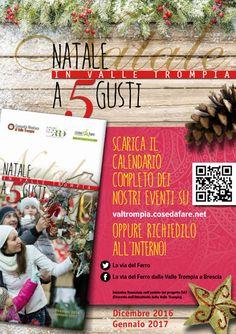 Natale a 5 Gusti in Valle Trompia  http://www.panesalamina.com/2016/52931-natale-a-5-gusti-in-valle-trompia-3.html