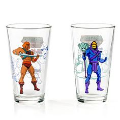 Masters Of The Universe Pint Glass Set