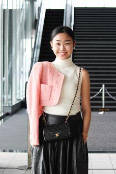 Street Style of Tokyo: CHANEL Jacket & NICOLE Pants | Fashionsnap.com