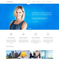 Crystalline Ultimate Business WordPress Theme | Best WordPress Themes Download 2013