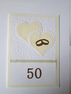 Carte anniversaire de Mariage!!  L'atelier de Daniela