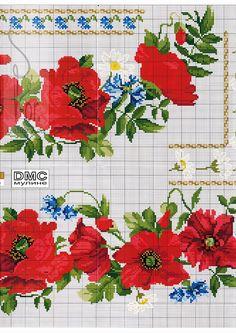 Gallery.ru / Фото #138 - схемы для вышиванок - zhivushaya