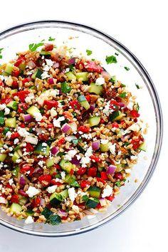 Περιέχουν όλα τα απαραίτητα θρεπτικά συστατικά και αποτελούν την ιδανική επιλογή για ένα ελαφρύ μεσημεριανό. Δείτε τις συνταγές.