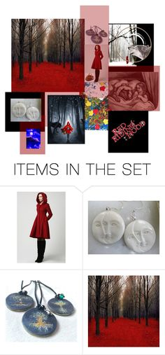 Red Riding Hood by pippinpost on Polyvore featuring art and etsyevolution