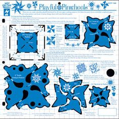 Playful Pinwheels Template by Hot Off The Press Inc (4007388)