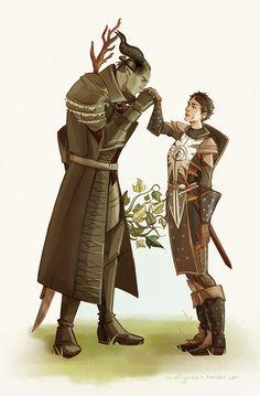 bouquet of elfroots is best present х)
