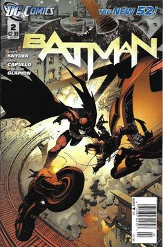 DC Batman issue 2 The New 52 Limited variant