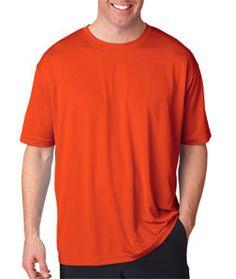 8400 UltraClubå¨ Men's Cool & Dry Mesh Sport Tee Orange