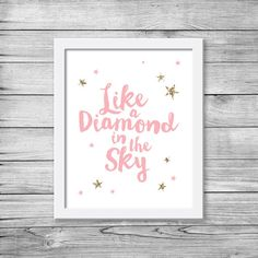 Twinkle twinkle little star printable / Nursery by PixelpopShop
