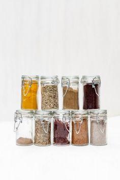 Frascos de Especias / Spice Jars